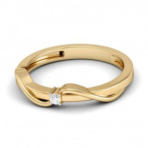 Diamond Ring Designs For Female Natural Round Certified Diamond 0.06 Ct Solid Gold  Vacation