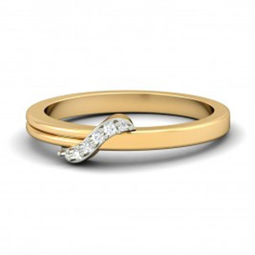 Buy Diamond Ring Online Natural Round Certified Diamond 0.1 Ct Solid Gold  Special Occasion