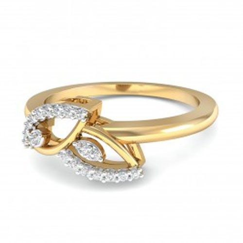 Buy Diamond Ring Online Natural Round Certified Diamond 0.2 Ct Solid Gold  Vacation