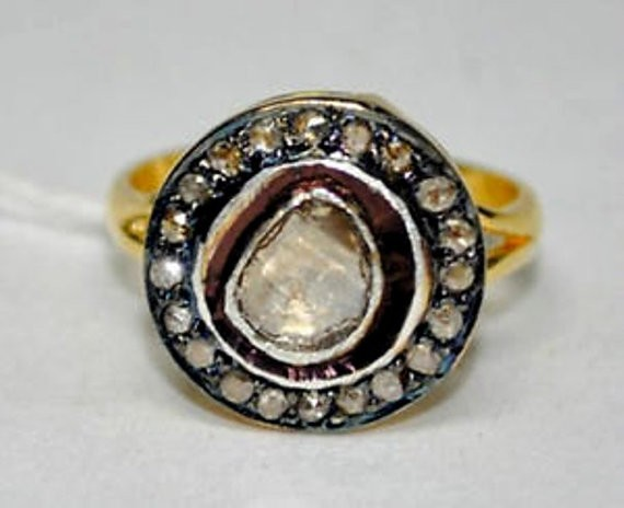 Vintage Engagement Rings For Sale 0.65 Ct Natural Certified Diamond 925 Sterling Silver Everyday