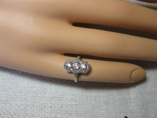 Victorian Engagement Rings 0.65 Rose Cut Natural Certified Diamond 925 Sterling Silver Weekend