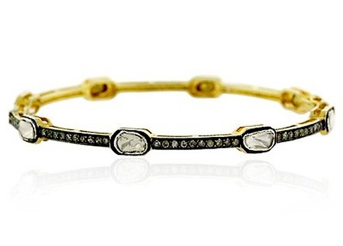 in platinum store product diamond art deco bracelet