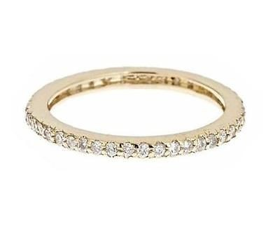 Engagement Bands 1.50 Ct Natural Certified Diamond Solid Gold Wedding