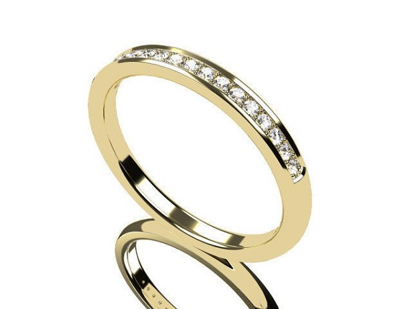 Diamond Gold Ring 1.50 Ct Natural Certified Diamond Designer Everyday