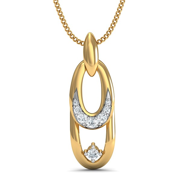 Fine Necklace & Pendant 0.1 Ct Natural Certified Diamond Weekend