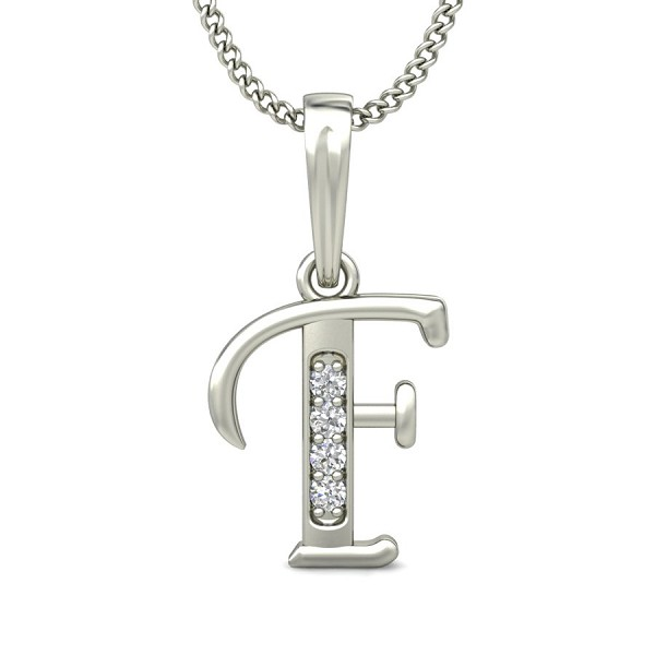 Diamond initial necklace 004ct solid gold letter pendant natural diamond initial necklace 004 ct solid gold letter pendant natural certified aloadofball Image collections