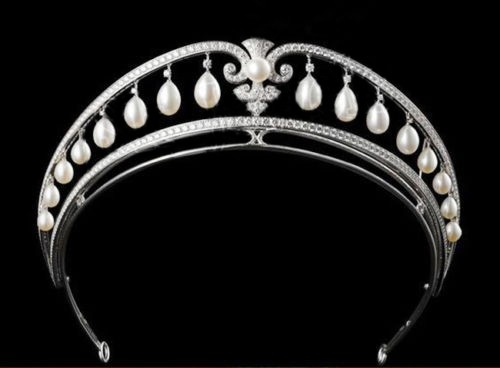 4.72ctw NATURAL DIAMOND 14K WHITE GOLD WEDDING ANNIVERSARY TIARA