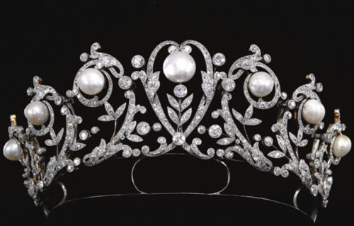 Certified Diamond Tiara 11.5 Ct Natural Certified Diamond Pearl Sterling Silver Bridal Hair Accessories