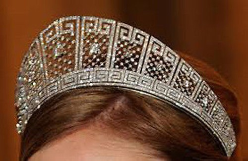 Diamond Crown 30.00 Ct Natural Certified Diamond Sterling Silver Headband