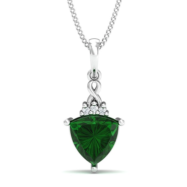 Fine Necklace & Pendant 0.015 Ct Natural Certified Diamond Everyday