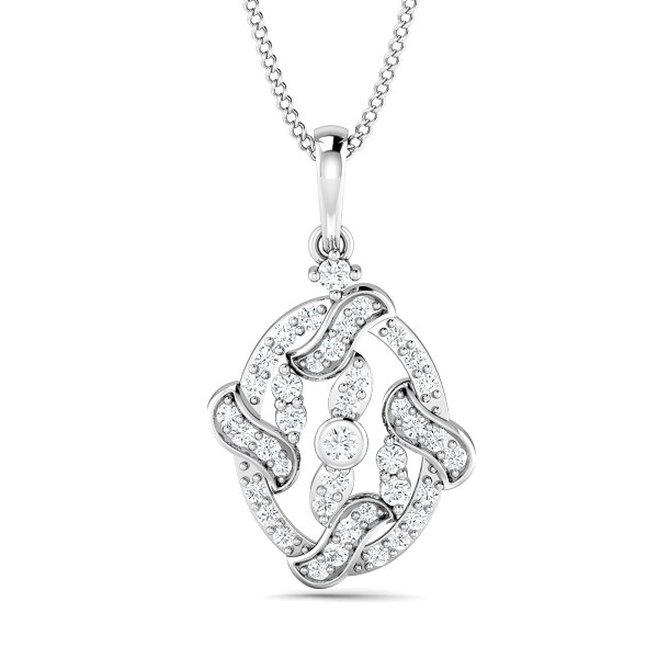 Diamond Pendant Charms 0.27 Ct Natural Certified Solid Gold Party
