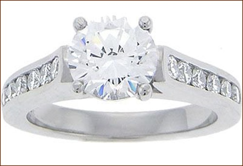 Engagement Rings Sale 1.50Ct Diamond White Gold Natural Certified