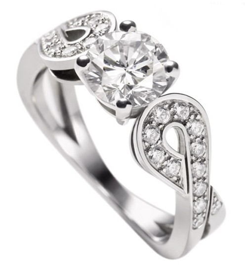Wedding Engagement Ring 1.50Ct Diamond Solid White Gold Natural Certified