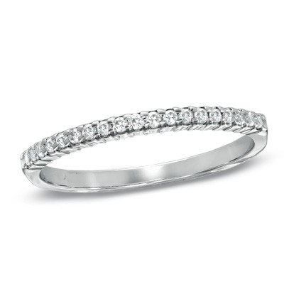 Wedding Bands for women 1.00Ct Diamond Solid White Gold Ring Natural Certified