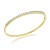 Single line diamond bangle Pair 2.00 Ct Solid Gold Natural Certified