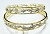 Eternity bangle 4.50 Ct Solid Gold Natural Certified