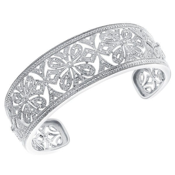 Women Cuff Bracelets 6.00 Ct Diamond Solid Gold Natural Certified