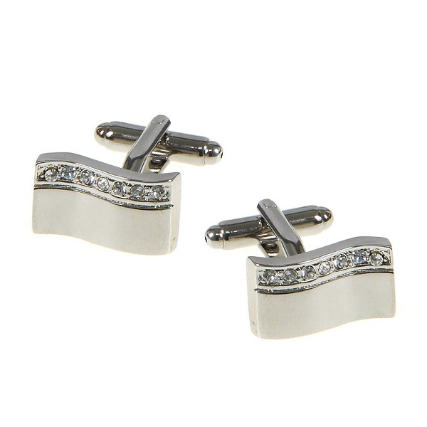 0.30 Ct Untreated Diamond Solid Gold Men'S Certified Cufflinks