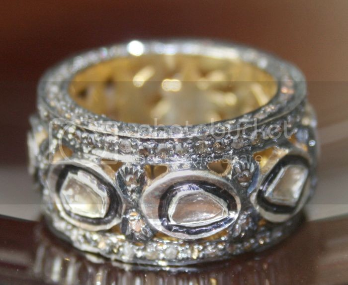 Victorian Style Wedding Rings 3.05 Carat Natural Certified Diamond 925 Sterling Silver BAnniversary