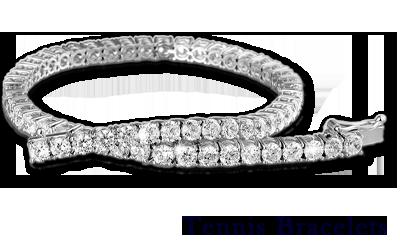Diamond Tennis Bracelets