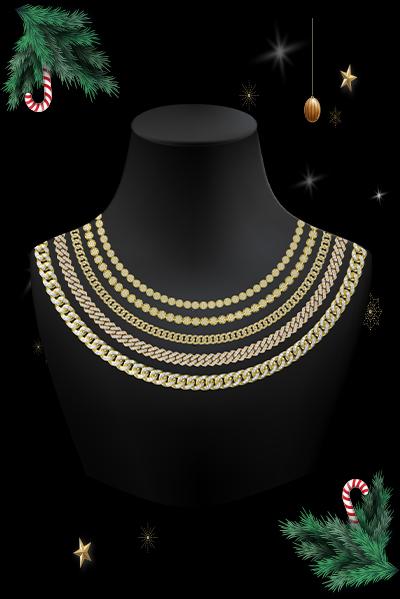 hip-hop gold chain