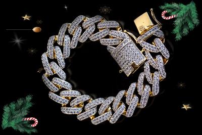 hip-hop diamond bracelet