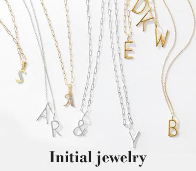 Initial jewelry online