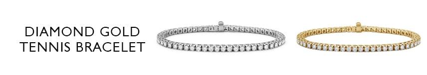 14k gold tennis bracelet