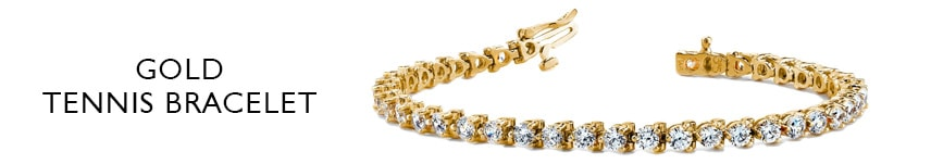 14k tennis bracelet