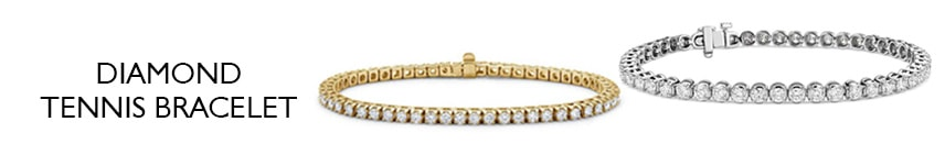 2ct diamond tennis bracelet