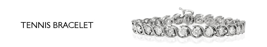 3ct diamond tennis bracelet