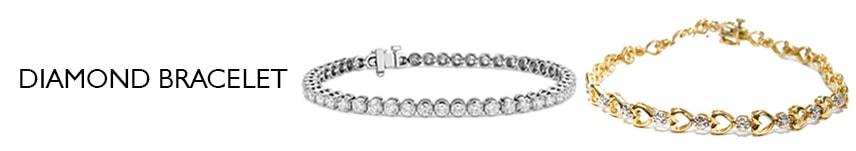 5 carat diamond bracelet