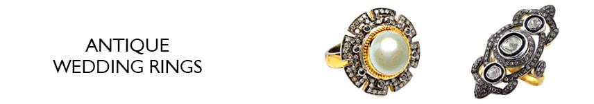 antique diamond wedding rings