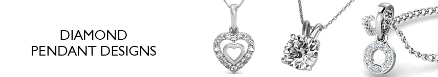 diamond pendant necklace designs