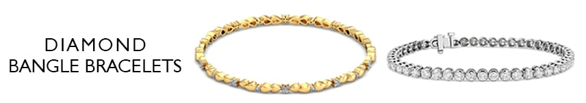 gold and diamond bangle bracelets