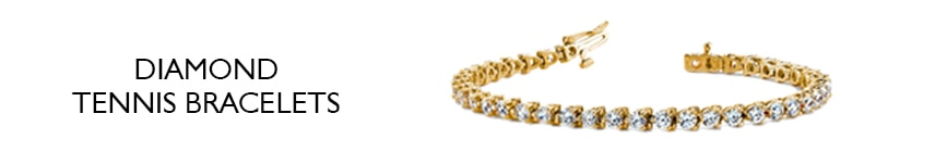 ladies diamond tennis bracelets