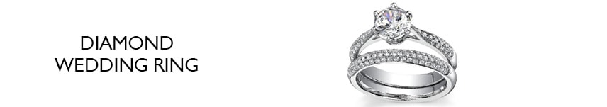 real diamond wedding ring