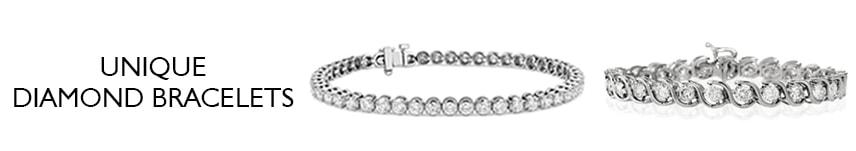 unique diamond bracelets