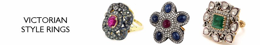 victorian style rings