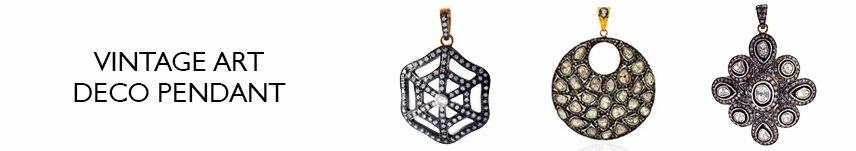 vintage art deco pendant