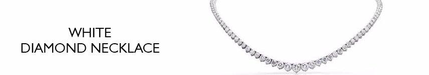 white diamond necklace