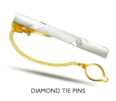 buy diamond tie pins