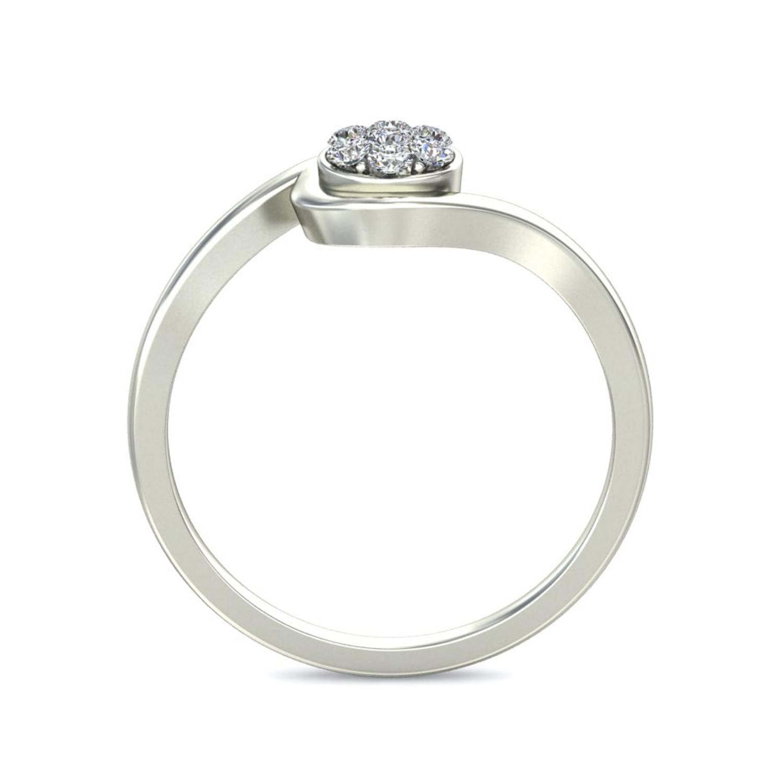 Diamond Ring Design 0 1 ct Certified Diamond Yellow White Gold