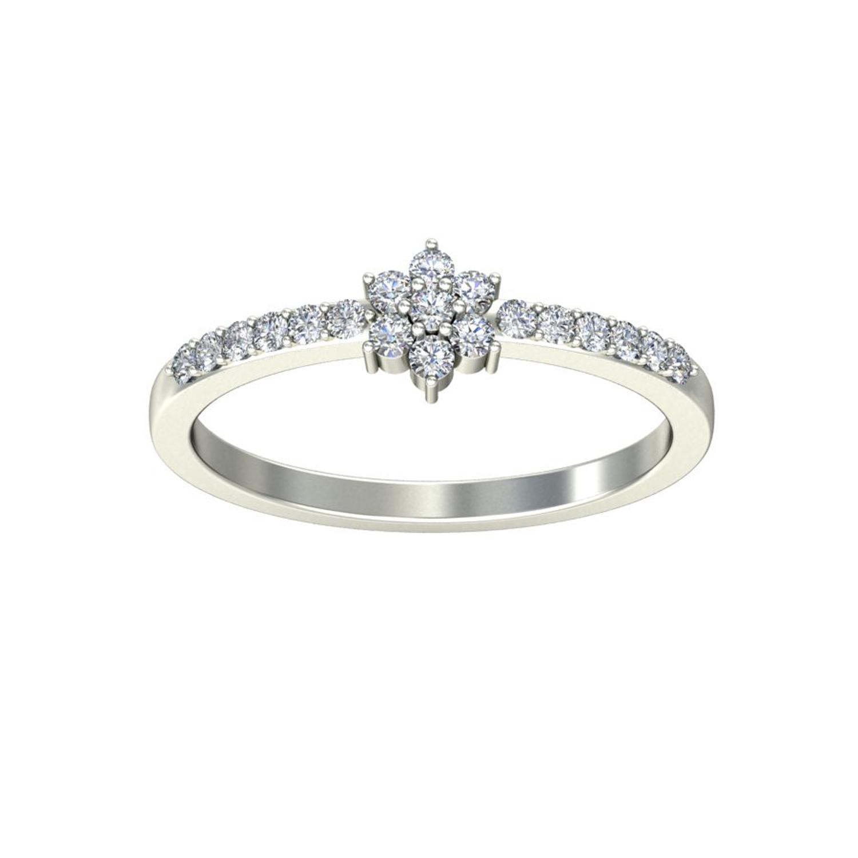Diamond Ring Price 0 17 ct Certified Diamond Yellow White Gold
