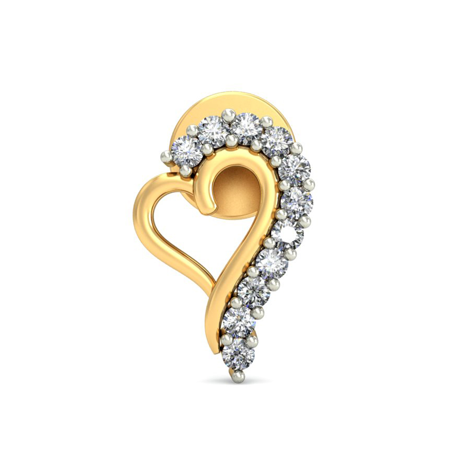 shaped earrings shaped earrings 0 22ct gold studs for 7771