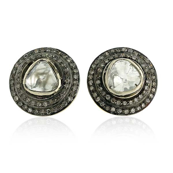 1 5 ct earrings deco earrings 1 5 ct silver 525